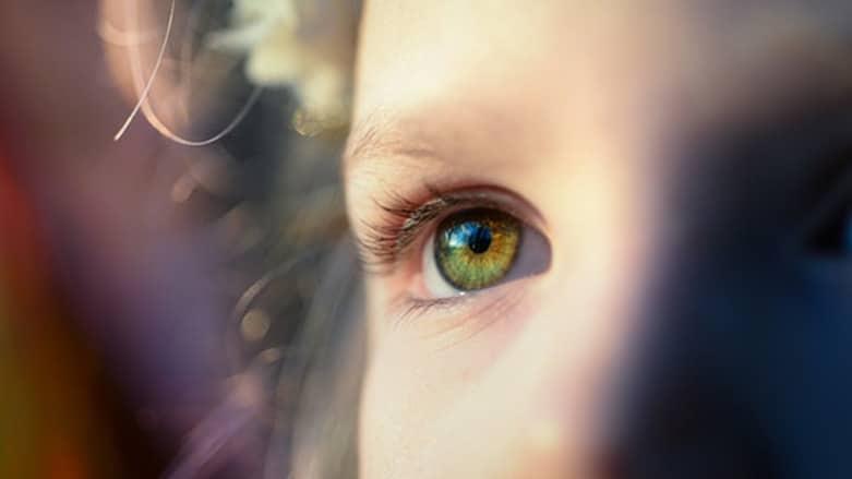 Proteggere occhi bambino