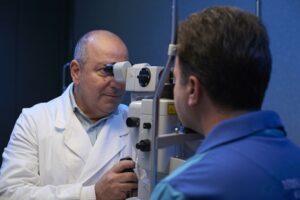 Sergio Solarino visita Argon laser