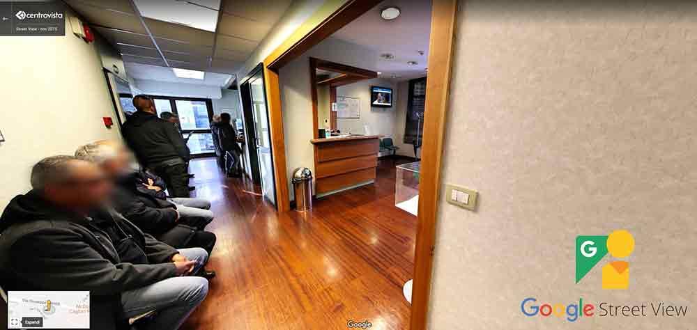 Centro Vista Google Street View