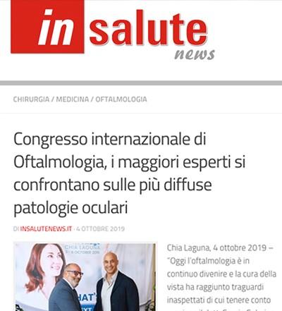 Congresso internazionale Oftamologia